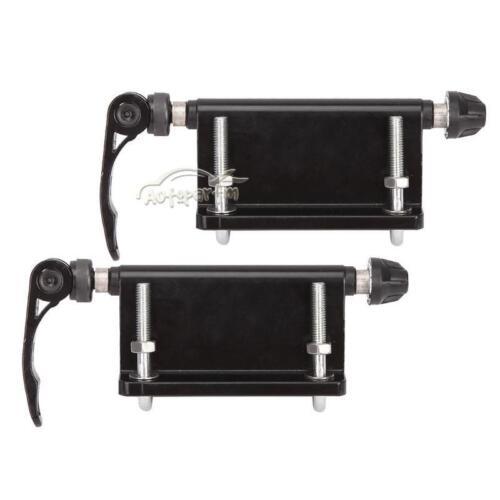 Pair Universal Bike Block QR Fork Mount For Pickup Truck Bed Rack Carrier Holder