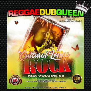 Details about DJ Dotcom - Cultural Lovers Rock 58 Mixtape  Reggae Mix CD   2019