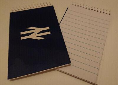 British Rail Notebook Jotter Hardback Trainspotting Enthusiast Brand New BR Red