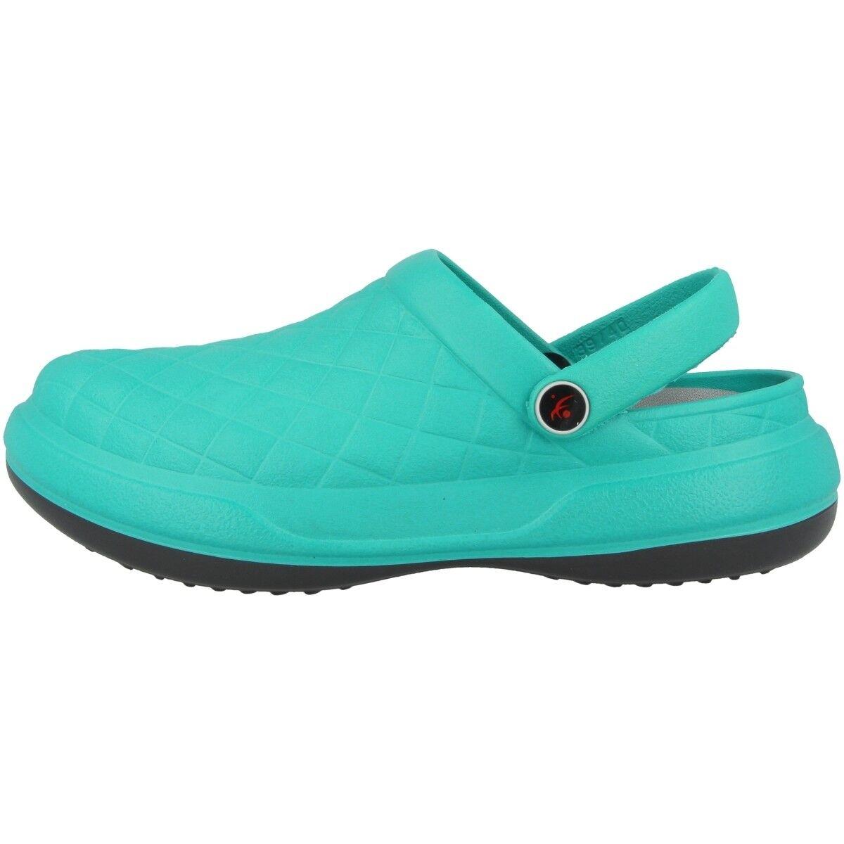 Chung Shi Dux FUTURE obstruir Sandalias Zuecos Zapatos de baño turquesa 8903080