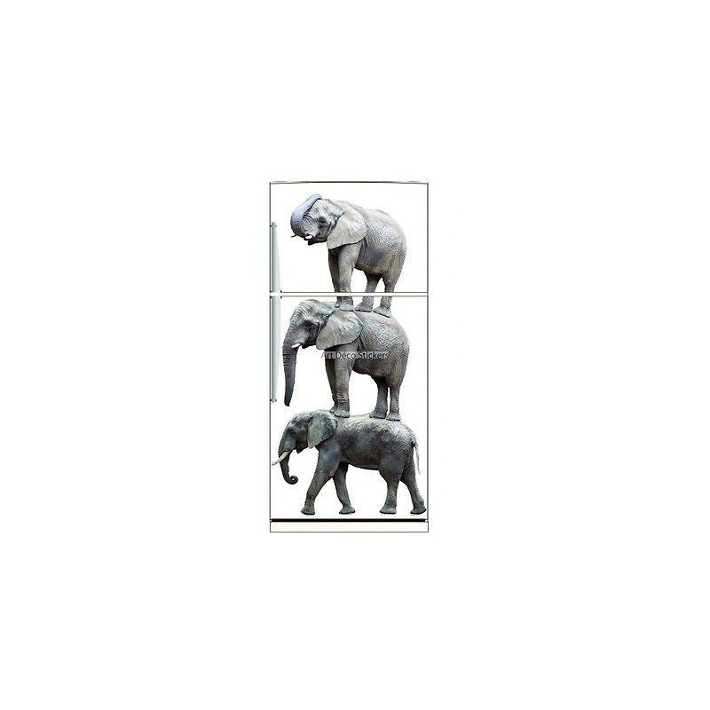 Kühlschrankmagnet Elefanten ref 6213 6213- art Deco Aufkleber