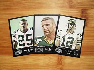 2008-Topps-Mayo-Green-Bay-Packers-TEAM-SET-Sterling-Sharpe