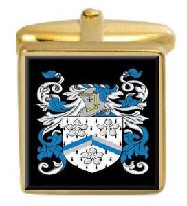 Obligatorisch Ambage England Familie Wappen Heraldik Manschettenknöpfe Schachtel Set Graviert Kataloge Werden Auf Anfrage Verschickt