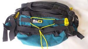 Mountainsmith-Tuck-Away-Waist-Pack-Fanny-Belt-Hiking-Tour-Lumbar-Black-Green