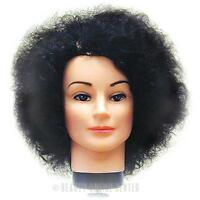 Celebrity Erica 18 Dark Brown Cosmetology Head 100% Human Hair Free Shipping