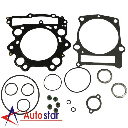 Top End Head Gasket Rebuild Kit For 04-07 Yamaha Rhino 660 /& 2002-08 Grizzly 660