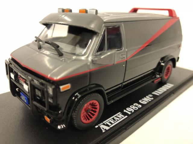 The A Team (1983-87 TV Series) - 1983 GMC Van Greenlight 1:43 Scale