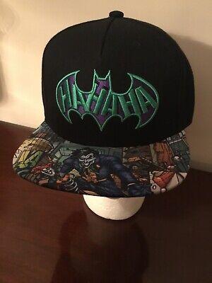 2f8522e4f Batman Joker DC Comics Unisex Baseball Cap/Hat Flat Brim SnapBack | eBay