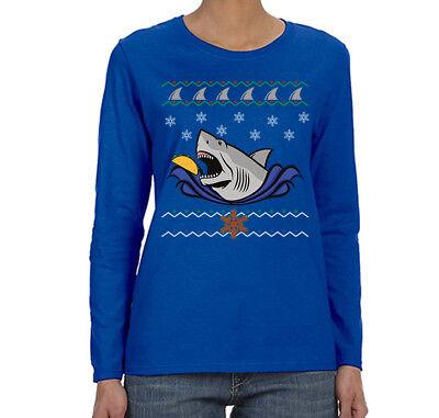 Big Pirate Ship Ugly Christmas Sweater Black Adult T-Shirt