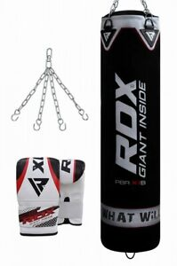 RDX Punching Bag Bracket Wall Chains Swivel Steel Mount Heavy Duty Punch Boxing.