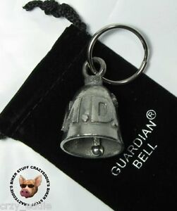 DOCTOR-M-D-MOTORCYCLE-RIDE-BELL-MADE-IN-USA-GUARDIAN-BIKER-BELL