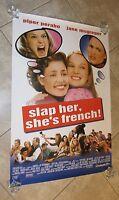 Slap Her She's French Movie Poster Piper Perabo Original Movie Poster