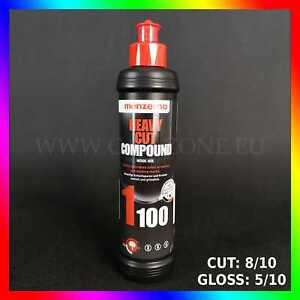 MENZERNA-1100-Heavy-Cut-Compound-250ml-CUT-8-10-GLOSS-5-10-FastMarksRemover