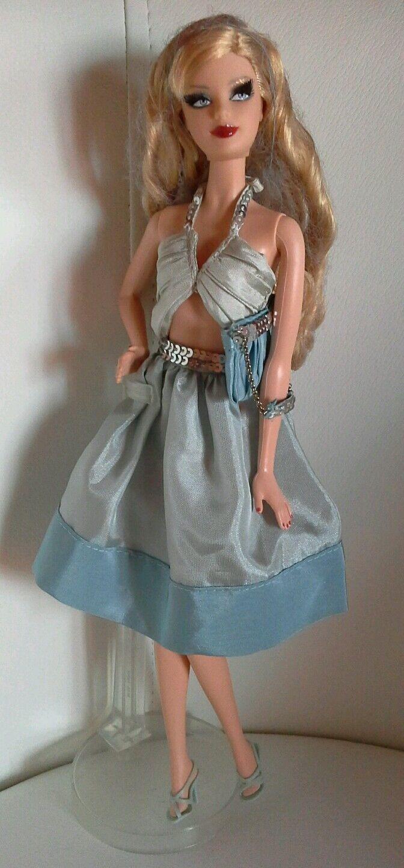 Barbie holiday 2008 abito ed accessori on location south beach ottimo