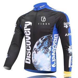 Discovery-Channel-Team-Cycling-Jerseys-Long-Sleeve-Mountain-Bike-Bicycle-Jersey