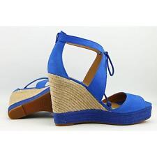 Lucky Brand Listalia Women US 8 Blue Wedge Sandal Blemish  12340