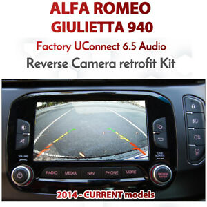 Alfa-Romeo-Giluietta-940-Series-UConnect-Integrated-Reversing-Camera-Kit