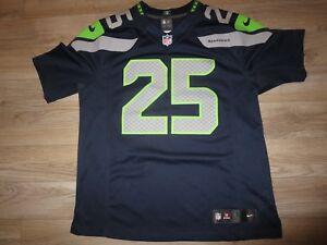 Details about Richard Sherman #25 Seattle Seahawks Nike On Field NFL Jersey LG L