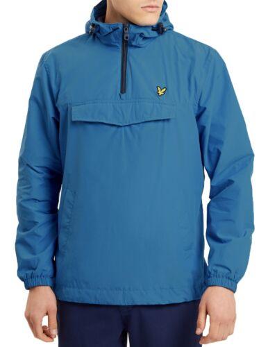 Overhead Over Anorak Lake Lyle amp; Scott Blue Pull Jacket Lightweight Hooded Mens q4tz0O