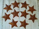 40 Rusty Barn Stars 2D, Dimensional Tin 2.25