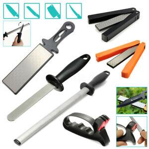 Diamond-Knife-Double-Sided-Sharpener-Sharpening-Whetstone-Stone-Tool-Kitchen-M