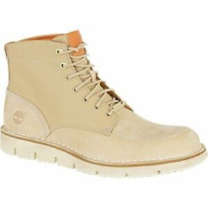 low priced c8565 cbc73 Details about NEW* TIMBERLAND WESTMORE BOOTS Men's LIGHT BEIGE CANVAS  WINTER SNEAKER A1KCW270