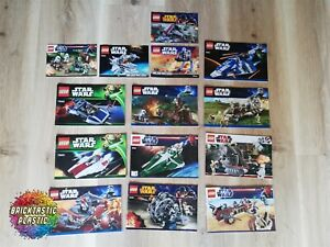 LEGO-X14-Bulk-Pack-Instruction-Booklets-Star-Wars-75022-9498-75040