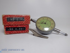 Mitutoyo Dial Indicator 0001 To 0050 Inno2915 Jeweled