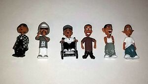 New! Homies Bobbleheads Series 2 Set Of 6 Figurines / Figures Willie G Free Ship
