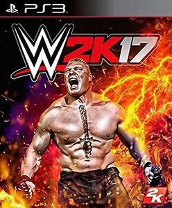 WWE-2K17-Wrestling-2017-17-Brand-New-Sealed-Sony-PlayStation-3-PS3