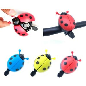 Bicycle Ring Bell Lovely Ladybug Design Cycling Ride Alarming Horn For Kids Bike