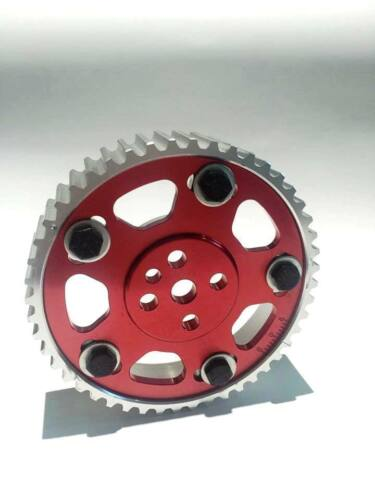RED HYPERCAM ADJUSTABLE CAM GEAR for NISSAN SKYLINE R31 RB30 TURBO