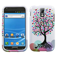 T-MOBILE SAMSUNG GALAXY S II 2 T989 GRAPHIC HARD SHELL CASE LOVE TREE