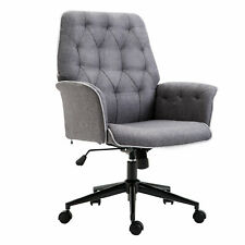 Modern Tufted Home Office Chair Computer Desk Task Seat Swivel Height Adjustable