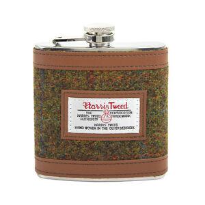 British-Bag-Company-Stornoway-Harris-Tweed-Hip-Flasche