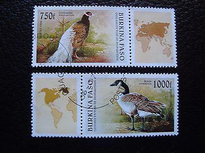 976 977 Gestempelt Burkina Faso Gut FüR Antipyretika Und Hals-Schnuller a04 a Briefmarke Yvert Und Tellier Nr