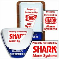 Dummy,Decoy Burglar Alarm Bell Box Stickers-Home,Property,Business Fake Intruder