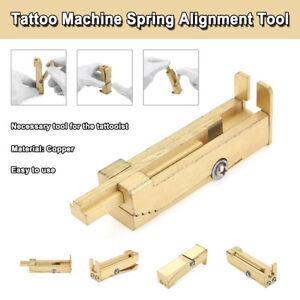 Rame-Macchina-per-Tatuaggi-Molla-Regolazione-Regolatore-Armatura-Allineamento