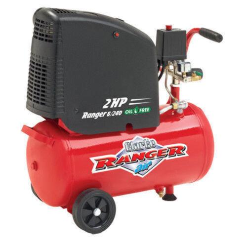 Clarke Ranger 6/240 2hp 24 Litre Oil Free Air Compressor (Ref: 2242010)