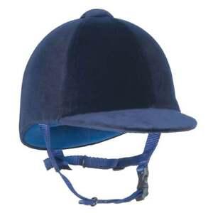 Champion junior cpx-3000 velours bleu marine chapeau équitation-équitation-afficher le titre d`origine uKYuIu4u-07152919-531758095