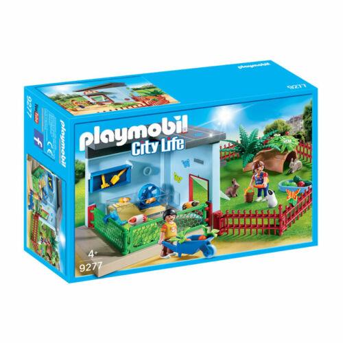 PLAYMOBIL Piccolo Animale D/'IMBARCO con criceto ruota-City Life 9277