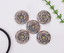 10X-Bohemian-3D-Flower-Turquoise-Conchos-For-Leather-Craft-Keychian-Wallet-Decor miniatuur 43