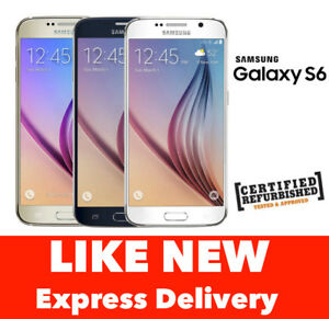 AS-NEW-Samsung-Galaxy-S6-Smartphone-32GB-64GB-4G-UNLOCKED-Express-from-Melbourne