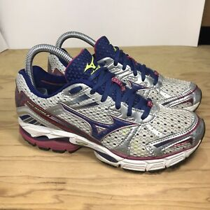 Gray Running Athletic Shoes Size