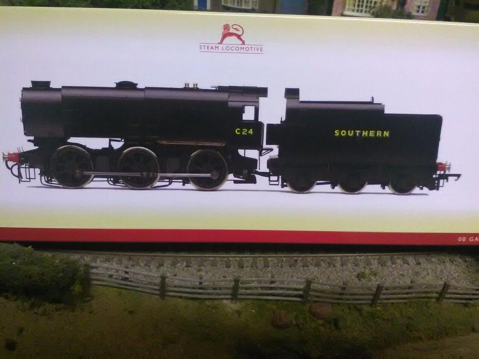 Hornby R3559 SR NEGRO 0-6-0 clase Q1 Locomotora de vapor C24 Nuevo Y En Caja