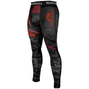 Para Hombre De Compresion Capa Base Pantalones Leggings Apretado Gimnasia Deportes Correr Pantalones Ebay