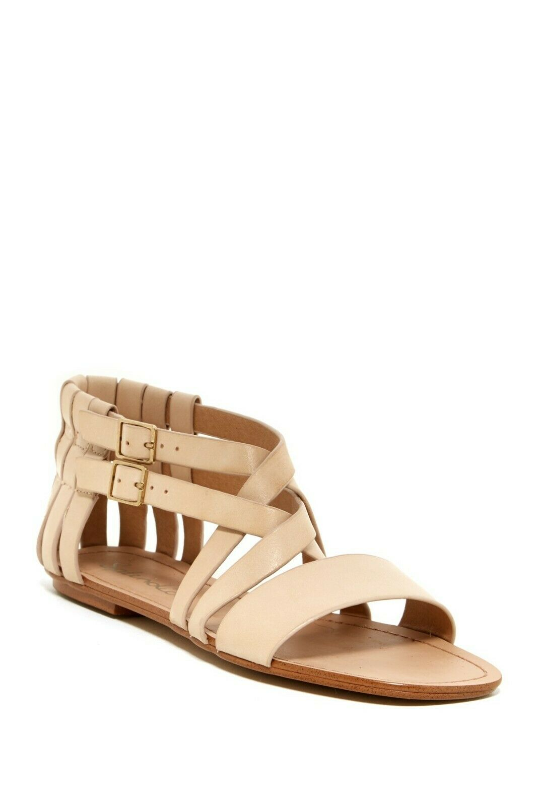 Splendid Talia Sandals in Nude Leather Wouomo US Dimensiones 6.5 & 7.5 MSRP  108