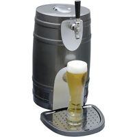 Compact 5 Liter Mini Kegerator Cooler, Pressurized Or Gravity Beer Draft Fridge
