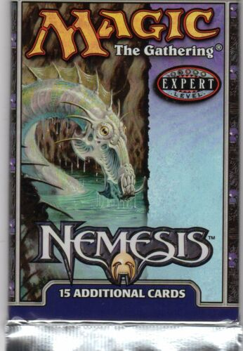MTG Magic the Gathering Nemesis boosters Pack English 3 packs