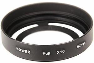 Metal Filter Ring + Lens Hood adapter for Fujifilm Finepix X10 X20 Camera
